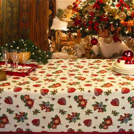 Christmas Tablecloths.Christmas Tablecloths Christmas Ricami E Pizzi