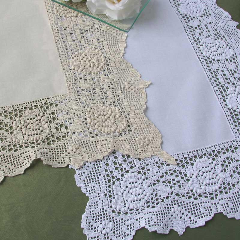 Camelia crochet doily
